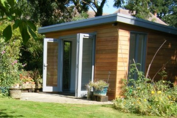 Gorgeous garden office from Decorated Shed