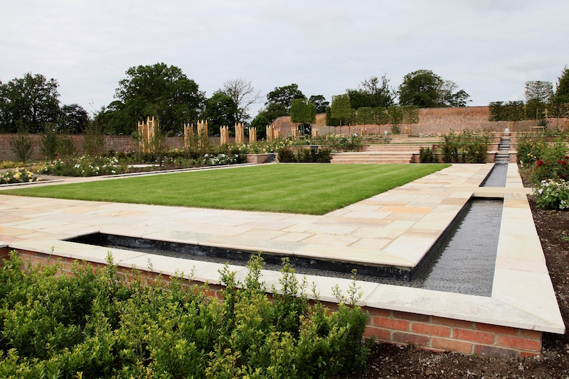 Sir John Hall unveils the second stage of a £5.3 million development of The Gardens at Wynyard Hall Hotel Picture: DAVID WOOD